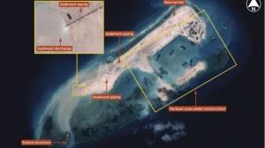 China Fiery Cross Reef